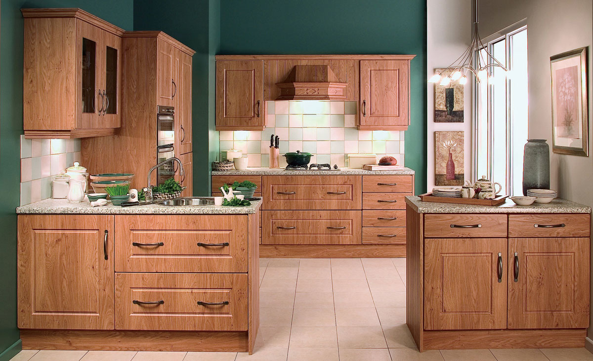 Kitchen design in contemporary style